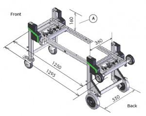 Dynnox XL36 mobiele bedrijfswagen inrichting