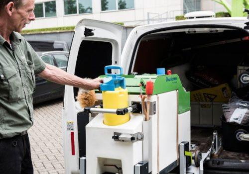 plantverzorging mobiele bedrijfswagen inrichting