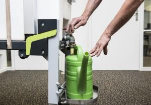 water plantverzorging mobiele bedrijfswagen inrichting