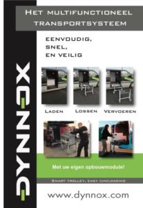 folder dynnox mobiele bedrijfswagen inrichting