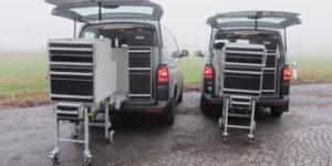 dierenarts veearts mobiele bedrijfswagen inrichting