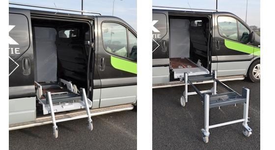 xl53 mobiele bedrijfswagen inrichting
