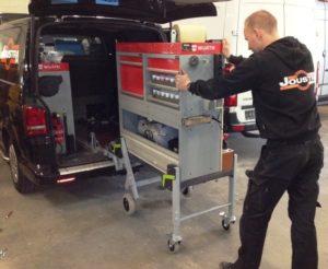 dynnox mobiele bedrijfswageninrichting smart repair