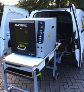 dynnox mobiele bedrijfswageninrichting grote machine