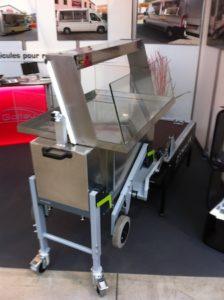 dynnox koeltafel mobiele bedrijfswageninrichting