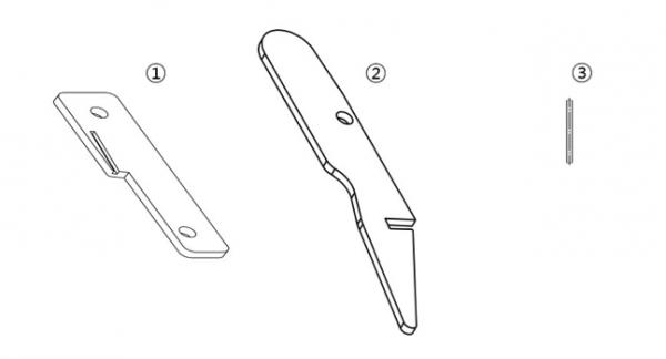 Dynnox set locking levers